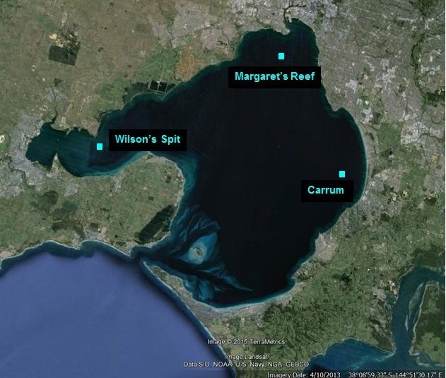 PPB Shellfish Reef Restoration Sites
