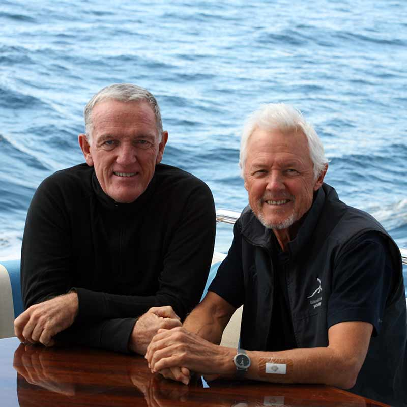 Roland Hill and David Thomas