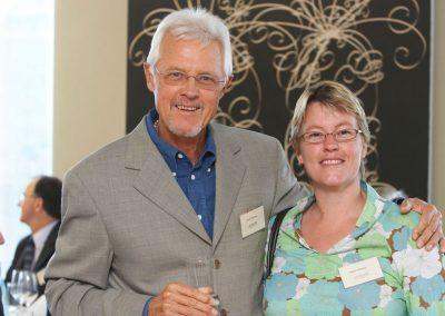 David with fire-ecologist daughter Juliet Thomas